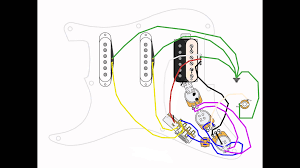 wiring diagram for two pickup guitar images pickup wiring diagram the pots are starting from closer one to pickups