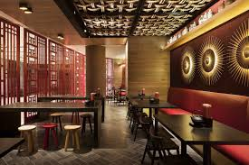 About Chinese Restaurant Interiors Of With Asian Design Pictures