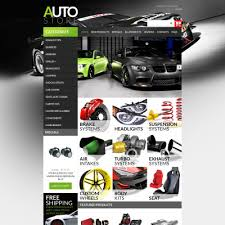 auto parts website template mechanic zen cart template