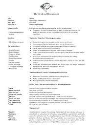 Head Waiter Job Description Sample. Head Waiter Job Description ...
