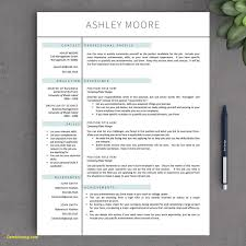 Creative Resume Templates For Mac Beauteous Resume Template For Mac Pages Elegant Resume Template Pages Free New