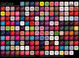 Opi Color Chart Opi Gel Colors Chart Bedowntowndaytona Com