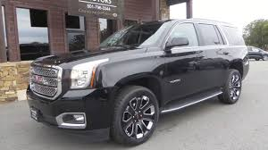 2017 gmc yukon slt black widow countryside motors arkansas