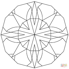 Small Picture Kaleidoscope coloring pages Free Coloring Pages