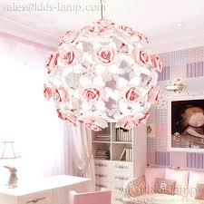 pink chandelier for kids room interesting pink flower ball chandelier for girls room kids modern chandeliers