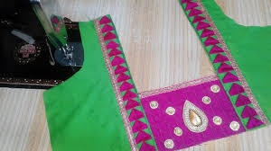 Cloth Patch Work Blouse Designs Latest Silk Saree Patch Work Blouse Designs New Model