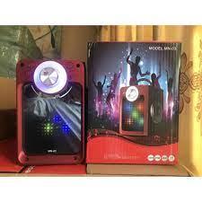 Tặng kèm mic + remote] Loa kẹo kéo hát karaoke mini MN03 công suất lớn 60W  nghe ấm,chắc loa ,không rè