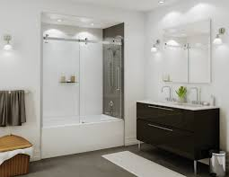 Glass Doors For Bathtub Shower Doors And Shower Enclosures Sliding Shower Doors Swing