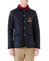 Gucci Caban Quilted Jacket   Neiman Marcus & Caban Quilted Jacket Adamdwight.com