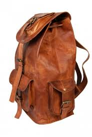 handcrafted leather backpack mens leather backpack leather rucksack
