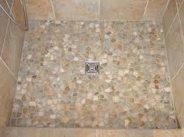 Incredible Pebble Shower Floors For Tiled Showers How To Install Small For Shower  Floor Tile ...