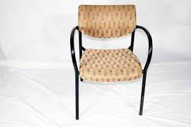 Used stackable chairs Comfortable Beige Fabric Stacking Chair Usedvictoriacom High Quality Used Beige Stacking Chairs In Orlando Used Keilhauer Also