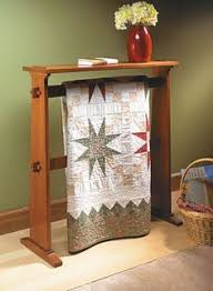 Craftsman-Style Quilt Rack | Woodsmith Plans | Quilt Racks ... & Craftsman-Style Quilt Rack | Woodsmith Plans Adamdwight.com