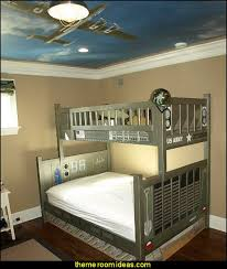 Airplane Themed Bedroom Decor Decorating Theme Bedrooms Maries Manor Army  On Pretty Airplane Bedroom Cool Themed