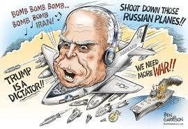 Afbeeldingsresultaat voor McCain the madman]