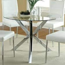 48 round glass table top pedestal base for fancy dining and tempered