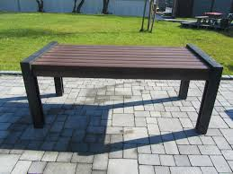 table recycled materials. Contemporary Picnic Table / Recycled Plastic Made From Materials Rectangular - HYDE PARK C