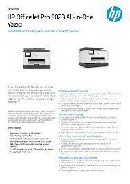 HP OfficeJet Pro 9023 All-in-One Yazıcı