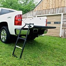 Amazon.com: Traxion 5-100 Tailgate Ladder: Automotive