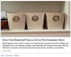 writer rejected for a retail job is embraced and vilified on it