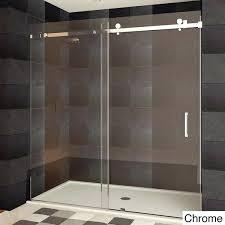 bathroom sliding glass shower doors. Lesscare Shower Door Ultra B Semi Sliding Doors Chrome Finish Collection Bathroom Glass