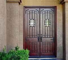 glass double front door. Double Wooden Front Doors Large Entry . Glass Door