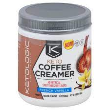 Keep in mind that many people are sensitive to low calorie sweeteners and may experience slower weight loss or stop weight loss altogether. Ketologic Keto Coffee Creamer French Vanilla Powder Shop Diet Fitness At H E B
