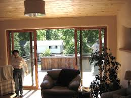 a sliding glass door s large expanse of glass transmits a lot heat out of the home in the winter and into the home in summer this heat flow takes three