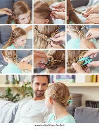 3 Praktické Návody Ako Aj Oteckovia Môžu Učesať Dievčatká Bez