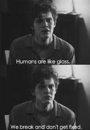 Ahs Quotes Inspiration Ahs Asylum Black And Write Evan Peters Murder House American