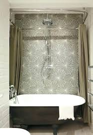 curved shower curtain seemly rail interior outstanding bath short rod adjule double for rv cur curved shower curtain
