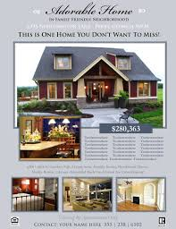 Free House Flyer Template Free House For Sale Flyer Templates Sample Sales Brochure Real