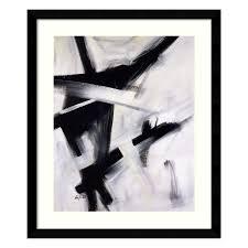 amanti art framed black and white paper print