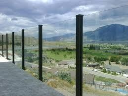 glass railing for decks glass railing glass deck railing systems calgary