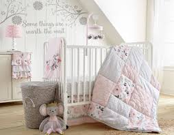 kitchen decorative grey baby bedding sets attractive 19 ideas of levtex elise and pink fl