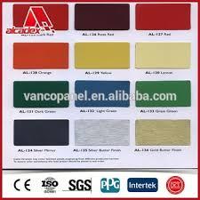 Acp Colour Chart Alpolic Building Materials 6mm Dibond Acp Color Card Buy Acp Color Chart Alpolic 6mm Dibond Product On Alibaba Com