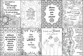 Included into beautiful and various patterns to color. Free Printable Flower Quote Coloring Pages