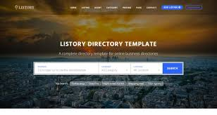 Template For Directory Top 10 Best Premium Multipurpose Directory Templates Our Code World