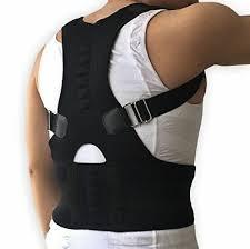 4 of 11 Adjustable Posture Corrector Back Support Shoulder Lumbar Brace Belt Men Women ADJUSTABLE POSTURE CORRECTOR