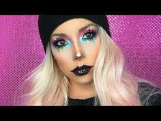 colorful face chart makeup relux