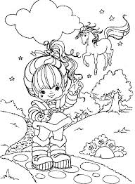 Small Picture 22 best Rainbow Brite Coloring Pages images on Pinterest Rainbow