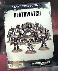 Start Boxes 40ks Newest Deal Start Collecting Deathwatch Set Unboxed Spikey