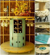 repurposed cable spools google search home improvement wire spool diy wood and furniture ideas