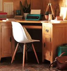 corner desks home office. Country Style Home Office Space. Oak Corner Desk With Eames Chair And Cotswold Company Desks 3