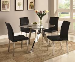 modern dining table sets stylish dining tables and chairs any amazing of round glass dining
