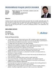 vaqar javed resume new