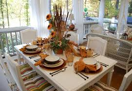 Fall Table Scapes Fall Dining On The Porch Celebrating The Russet Shades Of Autumn