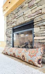 stopper got cold drafty air coming through your fireplace block it out by making a diy