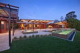 Modern Backyard Design Property Awesome Inspiration Design