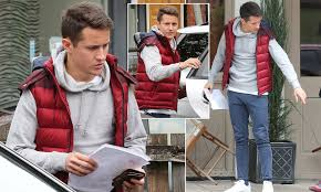 Ander Herrera enjoys meal out with girlfriend and daughter in Cheshire